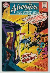 ADVENTURE 365 FINE February 1968 Shadow Lass COMICS BOOK
