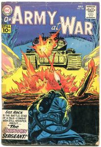Our Army at War #108 1961- Sgt Rock- Unknown Sergeant- Flamethrower cover G/VG