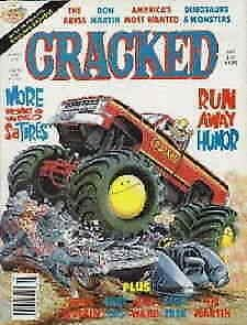 Cracked #252 VG; Globe | low grade comic - save on shipping - details inside