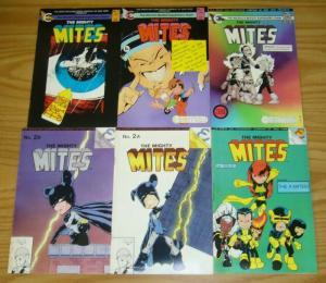 Mighty Mites #1-3 FN complete series + variant + vol. II #1-2 X-BABIES?! set lot