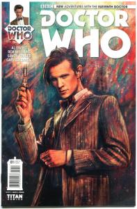 DOCTOR WHO #1 2 3 4 5 6 7 8 9 10 11 A + 7 C, NM, 11th, Tardis, 2014, Titan, 1st