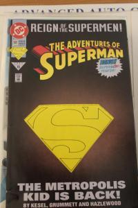 Adventures of Superman 501 Die Cut  VF