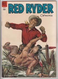 Red Ryder Comics #128 (Mar-54) VF High-Grade Red Ryder