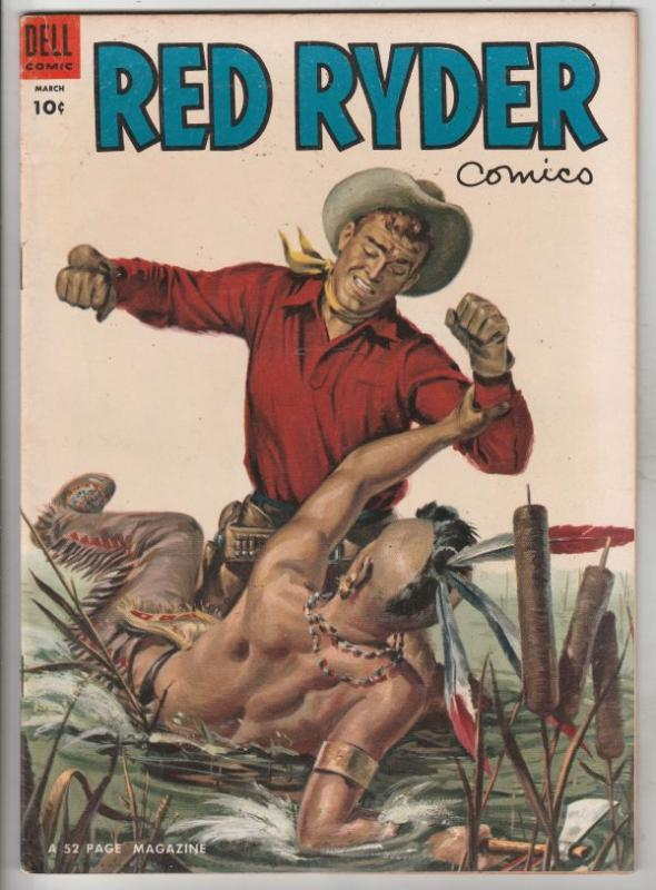 Red Ryder Comics #128 (Mar-54) VF High-Grade Red Ryder
