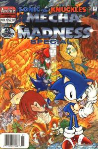 Sonic And Knuckles: Mecha Madness Special #1 FN; Archie | save on shipping - det