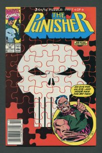 Punisher #38 / 9.4 NM  Jigsaw Part Four  Newsstand September 1990