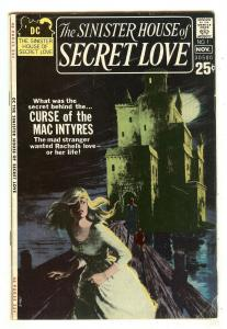 Sinister House Of Secret Love 1   Grey tone cover   52 Pages