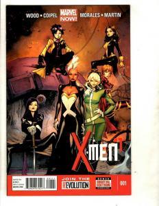12 X-Men Marvel Comics # 1 2 3 4 5 6 7 8 9 10 11 12 Wolverine Jubilee CJ17