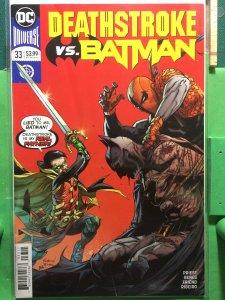 Deathstroke #33 DC Universe Rebirth