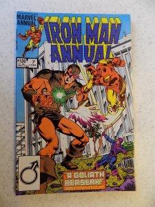 INVINCIBLE IRON MAN ANNUAL # 7