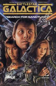 Battlestar Galactica: Search for Sanctuary #1 VF/NM; Realm | save on shipping -