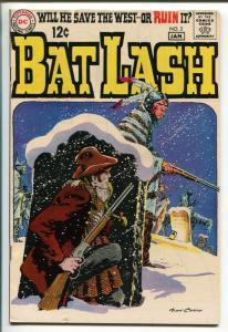 BAT LASH #2 1969-DC COMICS-NICK CARDY-WESTERN ACTION-vf