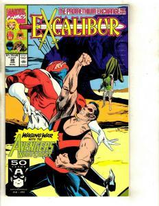 14 Excalibur Comics Marvel 38 46 49 51(3) 52 53 56 73 79 mojo 1 special 1 DS1