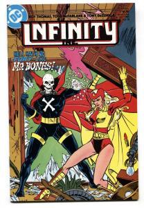 Infinity Inc. #16 1st appearance MR. BONES DC -comic book