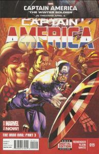 Captain America (2013 series) #19, NM + (Stock photo)