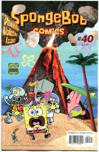 SPONGEBOB #40, NM, Square pants, Bongo, Cartoon comic, 2011, more in store