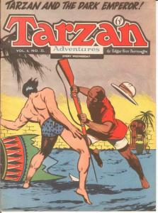 TARZAN ADVENTURES V 6#32 VG Nov. 1956 COMICS BOOK