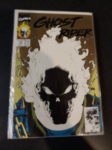 GHOST RIDER#15 Marvel Comics 1991 GLOW IN THE DARK 2nd Print GOLD VARIANT Rare
