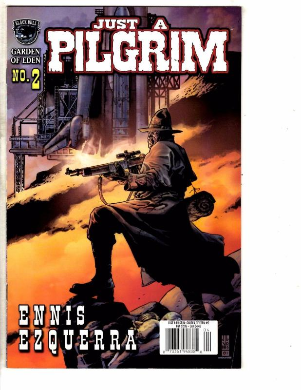 5 Indy Comics Just A Pilgrim # 2 3 4 + Kshatriya 1 + Bulletproof