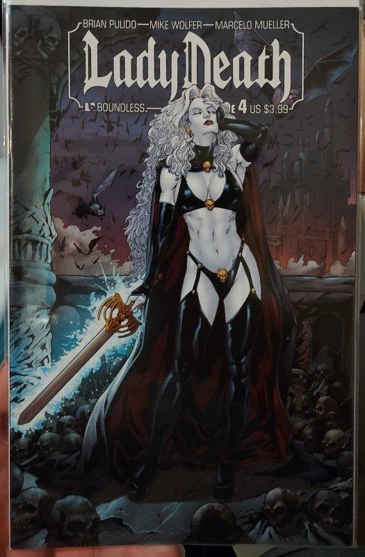 Lady Death #4 (2011) NM