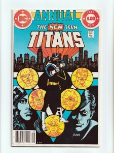 The New Teen Titans Annual #2 1st Vigilante DC Comics 1983 VF/NM