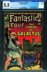 Fantastic Four #48 CGC 5.5 First Silver Surfer-2053168003