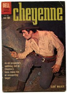 Cheyenne #17 1960 -Dell Western Clint Walker VG/F