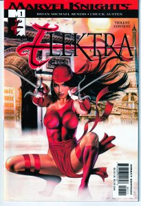 Elektra(Marvel Knights)# 1,2,3,4,5,6,7