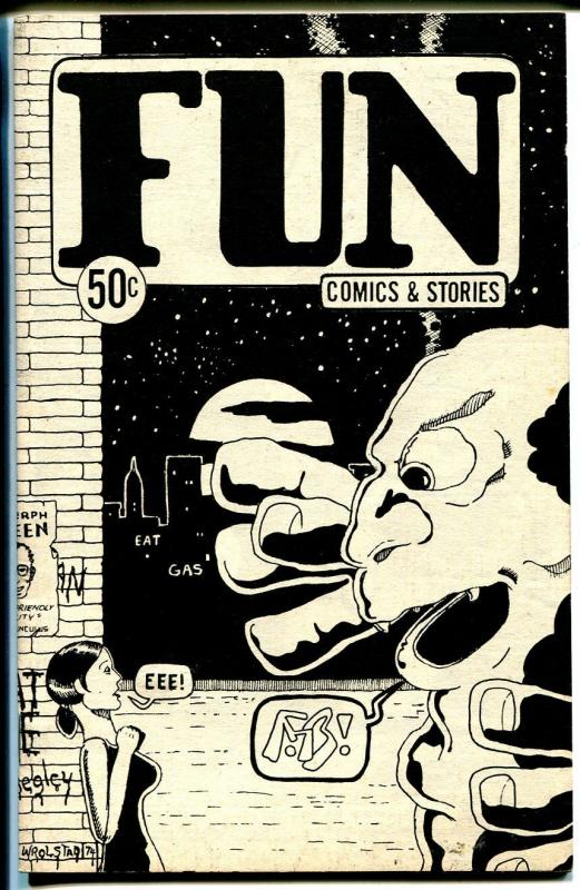 Fun Comics and Stories #1 1974-1st issue-horror-mystery-rare-VF
