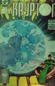 The World of Krypton #1, 2, 3 & 4., complete series wonderful condition