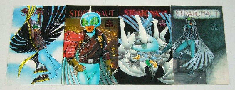 Stratonaut #1-4 VF/NM complete series - barry blair - night wynd comics set 2 3