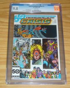 Crisis on Infinite Earths #11 CGC 9.8 marv wolfman - george perez 1986 dc comics