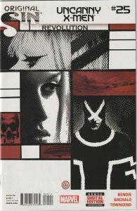 UNCANNY X-MEN # 25A (2014)