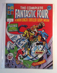 Complete Fantastic Four #37 (1978) Magazine Size Marvel UK 7.0 FN/VF Comic Book