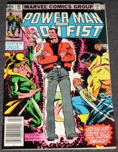 Power Man and Iron Fist #90 -1983