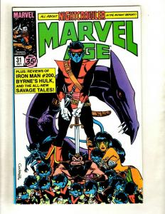 8 Marvel Age Comics # 31 32 33 34 35 36 37 42 HJ12