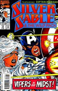 Silver Sable and the Wild Pack #15, NM (Stock photo)
