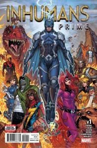 Inhumans Prime #1, NM + (Stock photo)