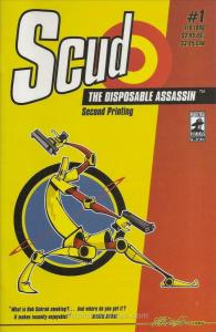 Scud: The Disposable Assassin #1 (2nd) VF; Fireman | save on shipping - details