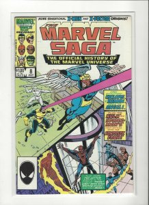 The Marvel Saga the Official History of the Marvel Universe #8 VF/NM