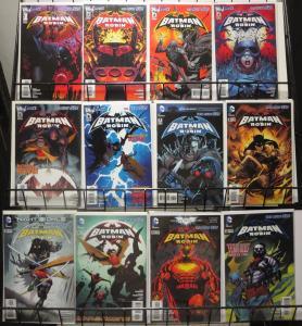 BATMAN AND ROBIN (New 52) #1-14, 16-22 | Lot of 21 DC Comics books (2011-13) VF+