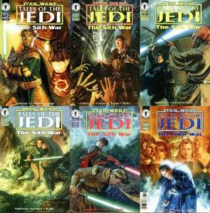 STAR WARS TALES OF THE JEDI SITH WAR (1995 DH) 1-6