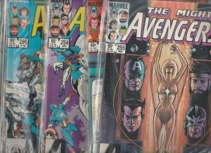 Avengers, The Set #253to262 (Apr-82) NM- High-Grade Avengers