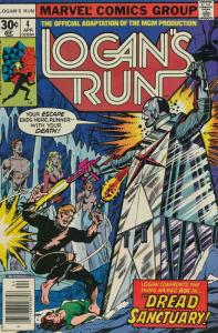 Logan's Run (Marvel) #4 FN; Marvel | save on shipping - details inside