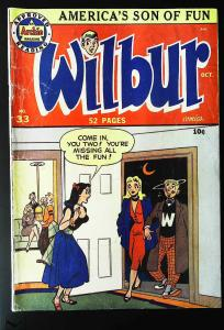 Wilbur Comics #33, VG+ (Actual scan)