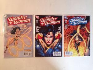 Wonder Woman 600 602 604 Near Mint Lot Set Run