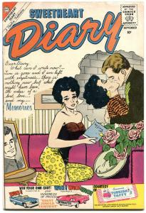 Sweetheart Diary #54 1960- Silver Age Charlton Romance-headlight cover FN-