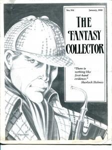 Fantasy Collector #214-1990-Caz-Sherlock Holmes-Virgil Wilhite-fanzine-VG