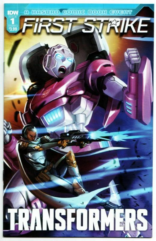Transformers First Strike #1 Cvr A (IDW, 2017) FN/VF