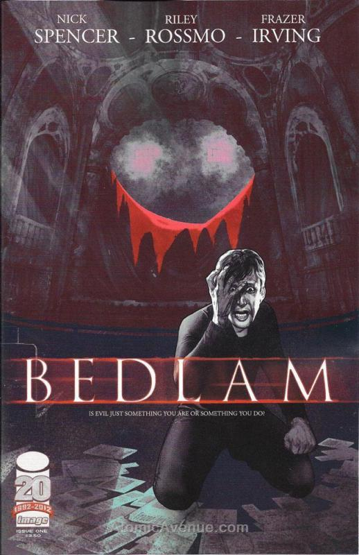 Bedlam (Image) #1 VF/NM; Image | save on shipping - details inside